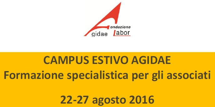 Agiqualitas presente a CAMPUS ESTIVO AGIDAE 2016
